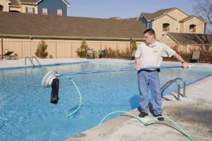 Fall pool service